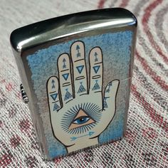 Exclusive Hamsa Zippo lighter available only at Urban Outfitters!