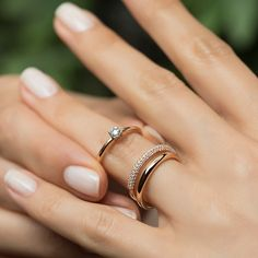 Oval Cut Forever moissanite engagement ring set,Curved U diamond wedding rose gold,Milgrain band,HALO promise ring - Fine Jewelry Ideas Eternity Ring Diamond, Diamond Rings, Wedding Rings Solitaire, Engagement Rings, Wedding Bands, Ring Rosegold, Birthstone Stacking Rings, Accesorios Casual, Anniversary Rings