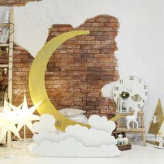 Considering the theme, you can change out the moon cutout for a rose cutout, stained glass panel, chandelier, etc