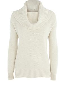 Oasis. Sparkle Cowl Neck Jumper | Look Book | Pinterest | Cowl ...