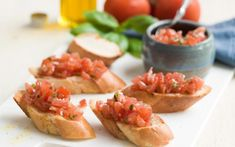 Bruschetta met tomatensalsa (2)