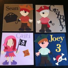 Pirate Birthday placemats