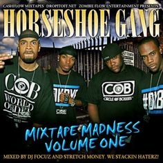 DJ Focuz & stretch Money team up to bring you a classic Horseshoe Gang mixtape check it out grab a download..Also be sure to check the page for more official mixtapes out now or you can search DJ Focuz or Stretch Money on Datpiff..#Support..#Share..#Feedback..