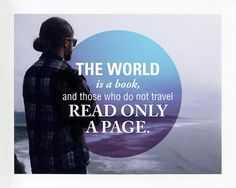 words, quote, travel