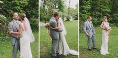 Arielle + Alex \\ Whimsical DIY Backyard Wedding » Lauren Fair Photography