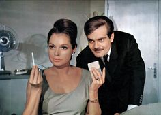 #Sixties | Nadja Tiller and Omar Sharif in The Poppy is Also a Flower, 1966