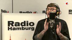"""James Arthur singt ein Cover von Miley Cyrus' """"Wrecking Ball"""" unplugged in der Radio Hamburg Live-Lounge."""