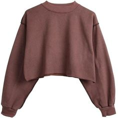 Raw Detail Crop Sweater (2.545 RUB) ❤ liked on Polyvore featuring tops, sweaters, shirts, red crop top, shirt sweater, red cropped sweater, red sweater and jumper shirt
