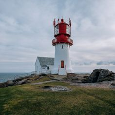 lindesnes lighthouse, norway | travel destinations in europe + photography #wanderlust