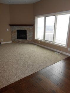 carpet living room hardwood hallway - Google Search
