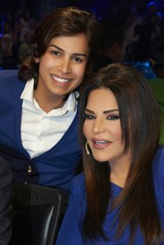 Ahlam with one of #Fans