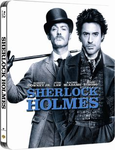 Sherlock Holmes #Steelbook Blu-Ray