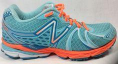 New Balance 870 V2 Womens 7.5 Running Shoe Aqua #NewBalance #RunningCrossTraining