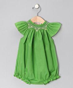 Apple Green Bubble Bodysuit