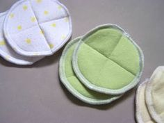 Nursing pads... great idea to save.