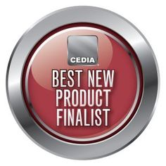 The Excellence Awards Best New Products finalists include: Control4's Control4 Wireless Music Bridge and Control4's Control4 Wireless Lighting. #smarthome #CEDIA13
