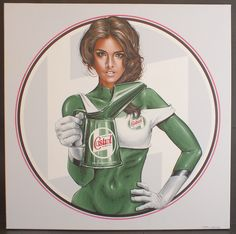 Castrol Oil Sales Canvas Acrylic Painting   Classic Driver Market