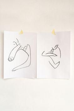 Andrea Kollar is an Austrian born artist, illustrator and art director. Black And White Art Drawing, Black And White Sketches, Black And White Posters, Black And White Aesthetic, Black And White Abstract, Oil Pastel Art, Charcoal Art, Couple Art, Love Painting