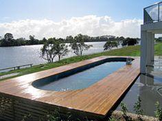 Above Ground Fiberglass Lap Pools fibreglass lap pools | inground & above ground fiberglass lap pool