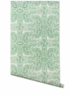 Andanza (Green) – Hygge & West upstairs bedroom 2 accent wall