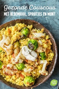 Hello Fresh Recipes, Food For Thought, Healthy Recipes, Healthy Food, Cauliflower, Foodies, Vegan, Chicken, Wordpress