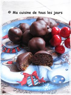 """Ma cuisine de tous les jours: Truffes style """"wunderbar"""" Caramel, Pudding, Beef, Desserts, Food, Style, Brownie Trifle, Christmas Foods, Truffles"""