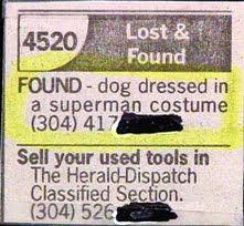 Lost superman