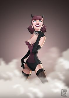 Trixie fan-art (original character by Andrew Hickinbottom) www.edouardrelou.eu