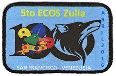 5to Ecos Zulia. Sublimada. 2016. Con ribete bordado.