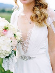 romantic lace and glam belt - photo by Cassidy Brooke