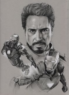 The Avengers - Iron Man by ~Raven-Scribbles on deviantART