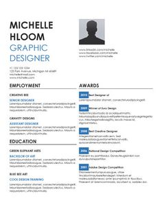 performance free resume template by hloom useful