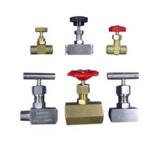 Needle Valve  Provides precision flow control for pressure up to 400 Psi