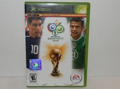 XBOX FIFA WORLD CUP Germany 2006 EA Sports Game Official Product