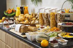 Frühstücksbuffet Müsliecke Breakfastbuffet