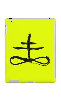 """Brimstone Symbol - Black Edition"" iPad Cases & Skins by Lidra   Redbubble"