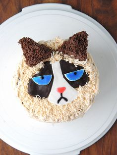 Grumpy Cat Cake Recipe