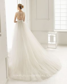 Duero by Rosa Clara #wedding #weddingdress #rosaclara