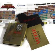Legend of Zelda Nintendo NES 1987 Retro Video Game by Retro8Games