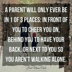I I didn't have a mom to walk by me but sure did have an amazing Mamaw that did.