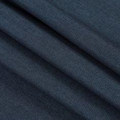 $14 Ralph Lauren Dark Indigo Stretch Denim Fabric by the Yard | Mood Fabrics