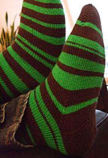 Pi socks. Free pattern