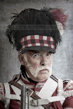 "An old ""Waterloo hand"""