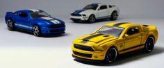 Miniaturas de Carros em Foco: Os Shelby Mustang Atuais