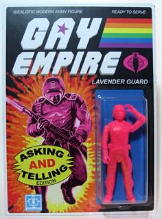 "Toy141 ""Gay Empire: Lavender Guard"" by Sucklord from Suckadelic (2011) #Toy"