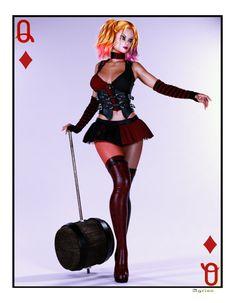 Harley Quinn Card 2 by Agr1on