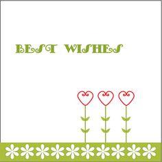 Best Wishes birthday card