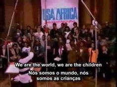 We Are The World legendado em inglês e português