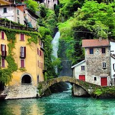 Italy I believe Beautiful Places To Visit, Wonderful Places, Beautiful World, Nesso Italy, The Places Youll Go, Places To See, Travel Around The World, Around The Worlds, Comer See