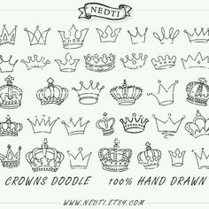 Crown doodlies